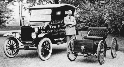 1896 Quadracycle And The 10 Millionth Ford Vehicle